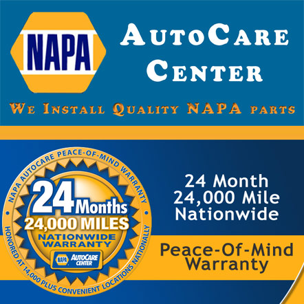 Choosing our mechanics means longer parts warranties that are covered nationwide!